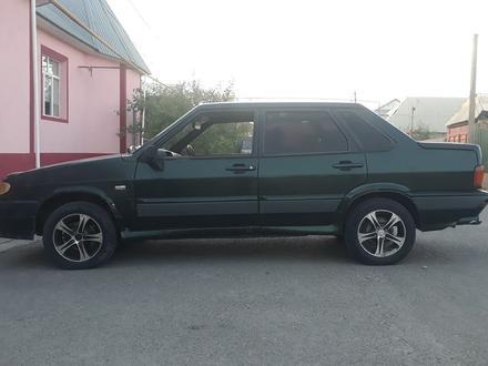 ВАЗ (Lada) 2115 (седан) 2002 года за 550 000 тг. в Аксукент – фото 8