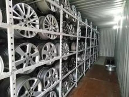 Диски оригинальные из Японии. Toyota j6.5 et45 за 140 000 тг. в Алматы – фото 3