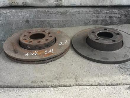 Амортизаторы задние на Audi с4, суппорта, тормозные диски за 100 тг. в Алматы – фото 4