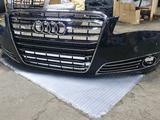 Передний бампер на Audi A8D4 за 330 000 тг. в Актобе – фото 3