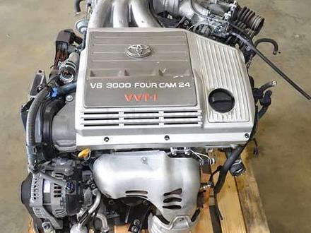 Мотор 1MZ-fe Двигатель Toyota Camry (тойота камри) двигатель 3.0 литра… за 88 456 тг. в Алматы