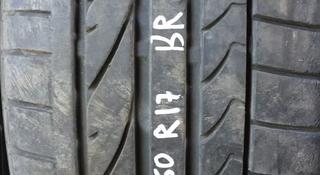 Резина 225/50 r17 Bridgestone одиночка за 15 000 тг. в Алматы
