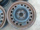 Оригинальные металлические диски на автомашину Opel (Германия R15 за 12 000 тг. в Нур-Султан (Астана) – фото 2