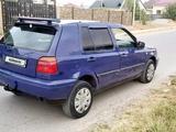 Volkswagen Golf 1992 года за 850 000 тг. в Шымкент – фото 5