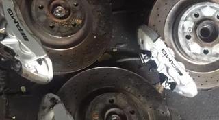 Диски тормозные с суппортом Мерседес W219 CLS55AMG за 420 000 тг. в Алматы