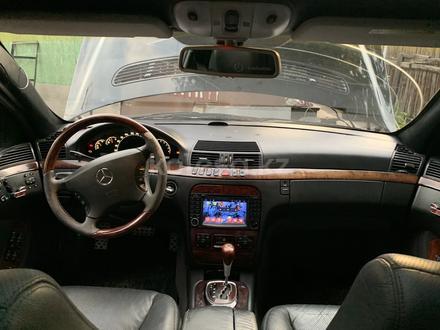 Mercedes-Benz S 500 2000 года за 2 600 000 тг. в Алматы – фото 4