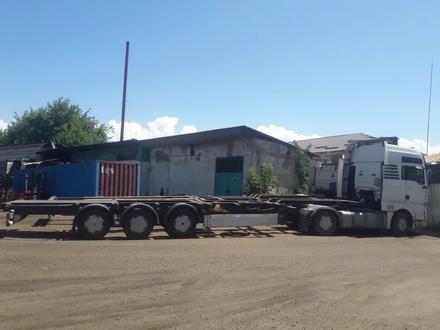 Полуприцеп площадка контейнеровоз в Алматы – фото 2