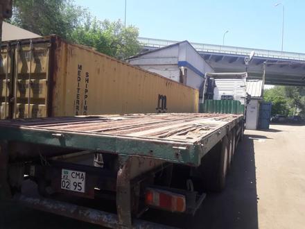 Полуприцеп площадка контейнеровоз в Алматы – фото 3