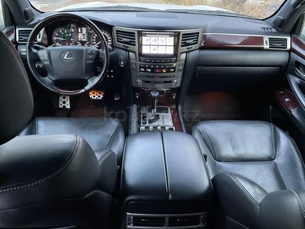 Lexus LX 570 2014 года за 25 000 000 тг. в Алматы – фото 2