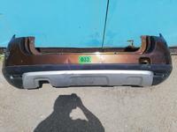 Оригинал Бампер задний Дастер с 2012 г, под накладку, в… за 35 500 тг. в Нур-Султан (Астана)
