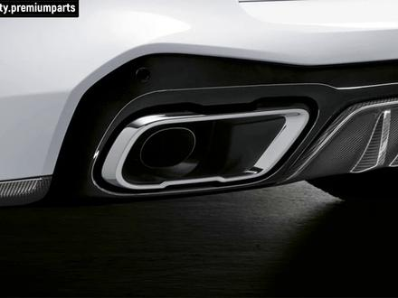 НАСАДКИ ГЛУШИТЕЛЯ М СТИЛЬ BMW X5 G05 за 160 000 тг. в Алматы
