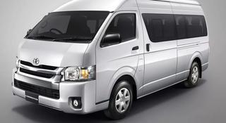 Новые запчасти на Toyota Hiace (хайс) 2005-2014гг микроавтобус в Алматы
