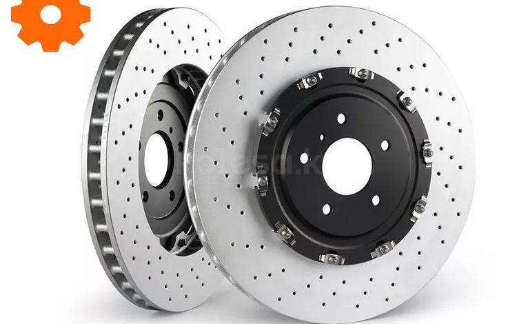 Тормозные диски на Ауди а6 c5, c6, c7, c8 —… за 23 575 тг. в Алматы