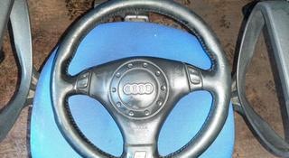 Руль S-line Audi a6 c5 в сборе с srs airbag… за 20 000 тг. в Семей