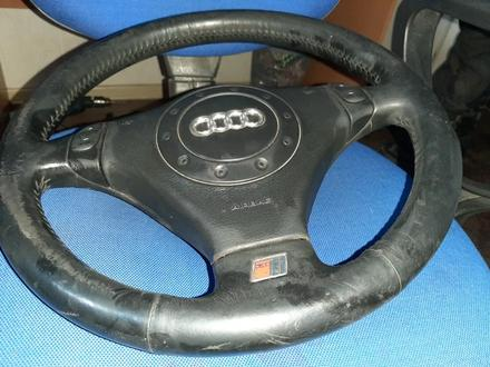 Руль S-line Audi a6 c5 в сборе с srs airbag… за 20 000 тг. в Семей – фото 2