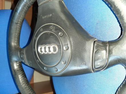 Руль S-line Audi a6 c5 в сборе с srs airbag… за 20 000 тг. в Семей – фото 6