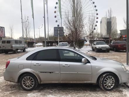 Chevrolet Lacetti 2010 года за 3 100 000 тг. в Нур-Султан (Астана) – фото 4