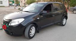 Renault Sandero 2012 года за 2 700 000 тг. в Кызылорда – фото 2