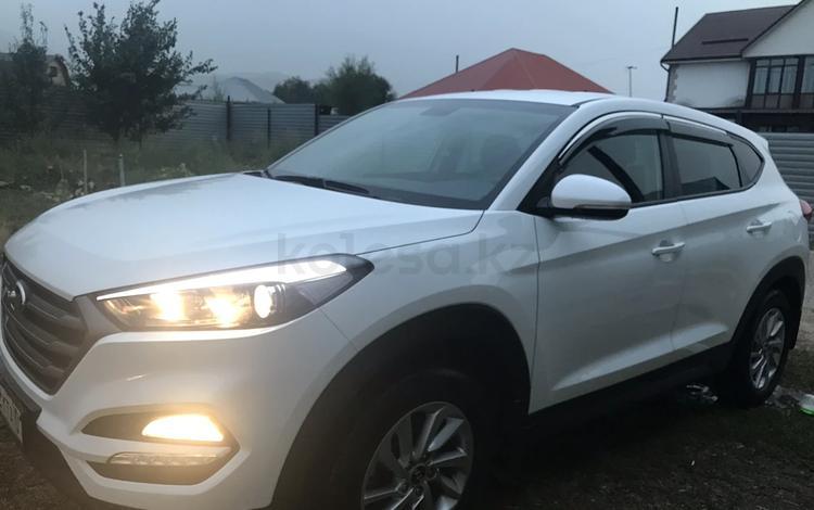 Hyundai Tucson 2018 года за 9 300 000 тг. в Алматы