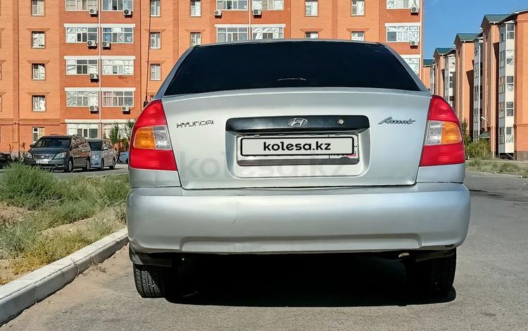 Hyundai Accent 2002 года за 1 100 000 тг. в Кызылорда