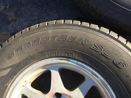 Оригинальные легкосплавные диски R16 на Toyota Hilux (Япония 6*139. за 150 000 тг. в Нур-Султан (Астана) – фото 15