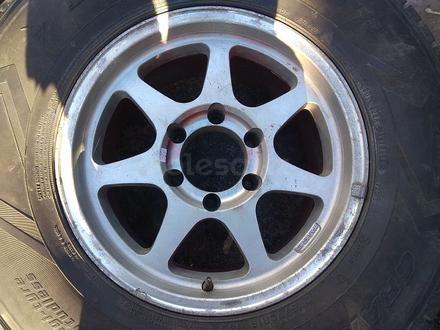 Оригинальные легкосплавные диски R16 на Toyota Hilux (Япония 6*139. за 150 000 тг. в Нур-Султан (Астана) – фото 2
