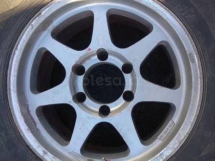 Оригинальные легкосплавные диски R16 на Toyota Hilux (Япония 6*139. за 150 000 тг. в Нур-Султан (Астана) – фото 3