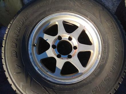 Оригинальные легкосплавные диски R16 на Toyota Hilux (Япония 6*139. за 150 000 тг. в Нур-Султан (Астана) – фото 4
