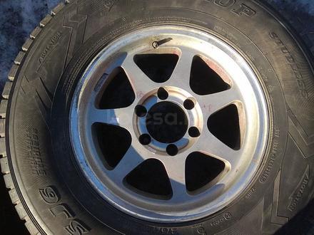 Оригинальные легкосплавные диски R16 на Toyota Hilux (Япония 6*139. за 150 000 тг. в Нур-Султан (Астана) – фото 5