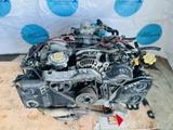 Контрактный двигатель Subaru Outback EJ25. Объём 2.5 литра за 290 000 тг. в Нур-Султан (Астана) – фото 3