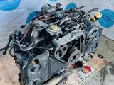 Контрактный двигатель Subaru Outback EJ25. Объём 2.5 литра за 320 000 тг. в Нур-Султан (Астана) – фото 4