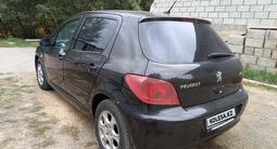Peugeot 307 2005 года за 1 420 000 тг. в Алматы – фото 5