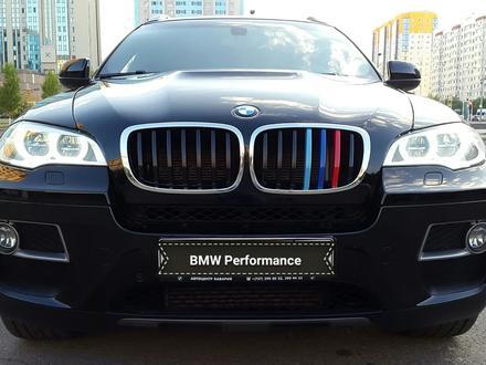 BMW X6 2013 года за 12 000 000 тг. в Нур-Султан (Астана) – фото 4