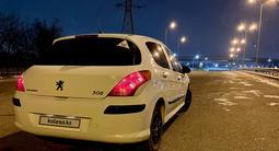 Peugeot 308 2009 года за 2 750 000 тг. в Алматы – фото 5