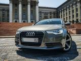 Audi A6 2014 года за 9 455 000 тг. в Алматы – фото 2
