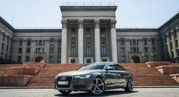 Audi A6 2014 года за 9 455 000 тг. в Алматы – фото 3
