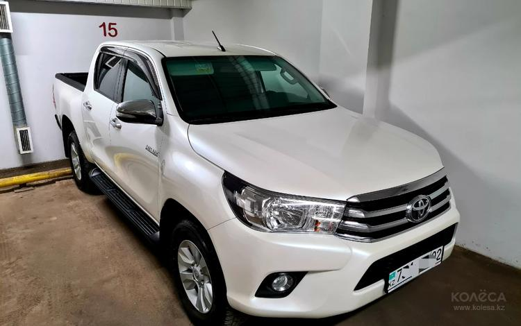 Toyota Hilux 2017 года за 16 700 000 тг. в Алматы
