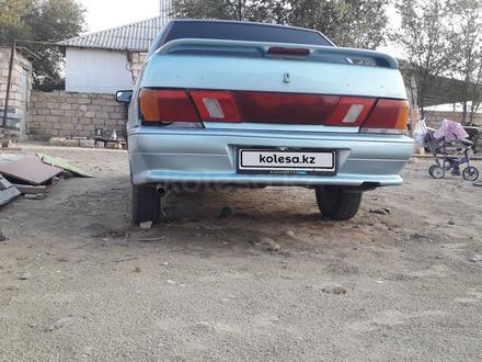 ВАЗ (Lada) 2115 (седан) 2003 года за 700 000 тг. в Актау – фото 4