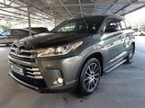 Toyota Highlander 2018 года за 22 400 000 тг. в Алматы