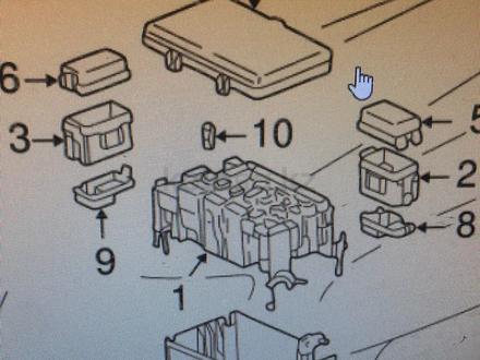 Крышка блока предохранителей за 5 000 тг. в Актобе – фото 2