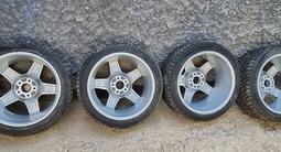 Оригинальный комплект зимних шин с дисками на шипах Amg за 420 000 тг. в Алматы – фото 3
