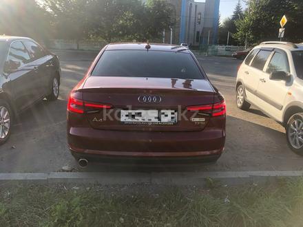 Audi A4 2018 года за 6 100 000 тг. в Нур-Султан (Астана) – фото 4