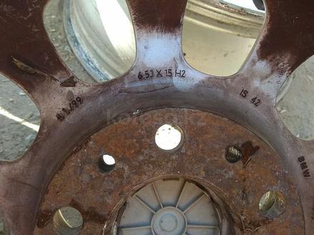 """Оригинальные легкосплавные диски """"46 стиль"""" на автомашину BMW 3 ( за 95 000 тг. в Нур-Султан (Астана) – фото 7"""