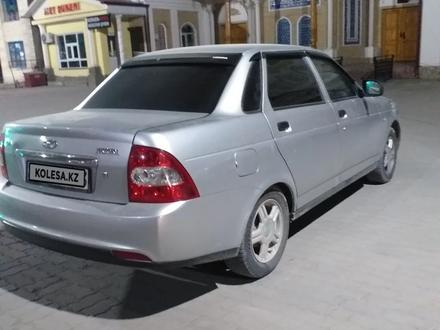 ВАЗ (Lada) Priora 2170 (седан) 2008 года за 1 400 000 тг. в Туркестан – фото 2