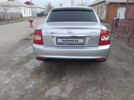 ВАЗ (Lada) Priora 2170 (седан) 2008 года за 1 400 000 тг. в Туркестан – фото 5