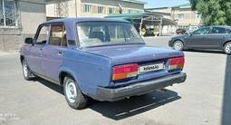 ВАЗ (Lada) 2107 2000 года за 360 000 тг. в Тараз – фото 5