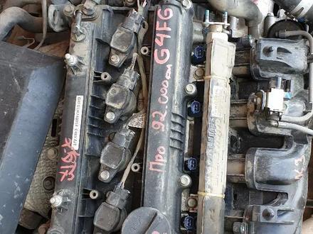 Двигатель на Киа Серато 2013 н. В 1.6 g4fg в Алматы