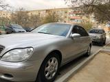 Mercedes-Benz S 500 2002 года за 3 100 000 тг. в Актау – фото 3