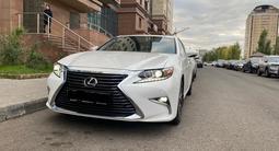 Lexus ES 250 2017 года за 17 500 000 тг. в Нур-Султан (Астана)
