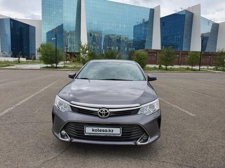 Toyota Camry 2015 года за 9 200 000 тг. в Нур-Султан (Астана) – фото 3